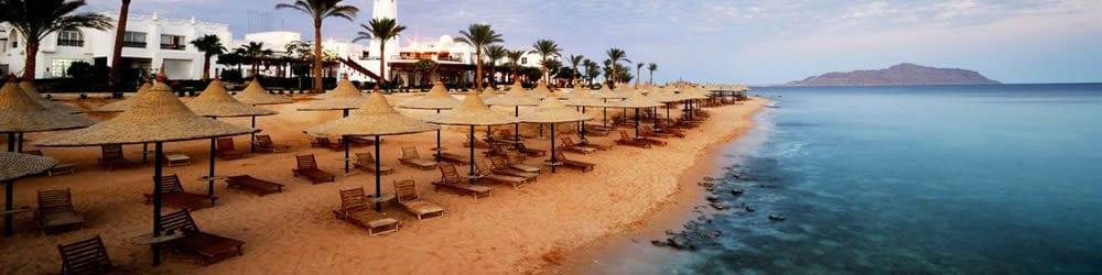 Hotely v Egypte