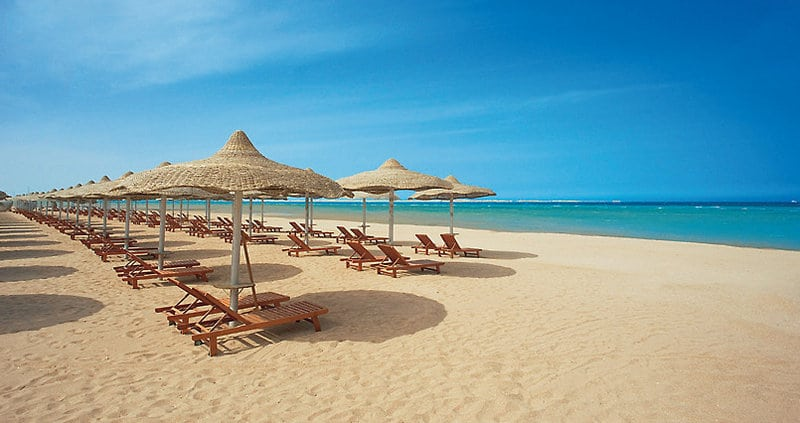 hurghada pláž