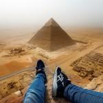 Vystup na pyramidu