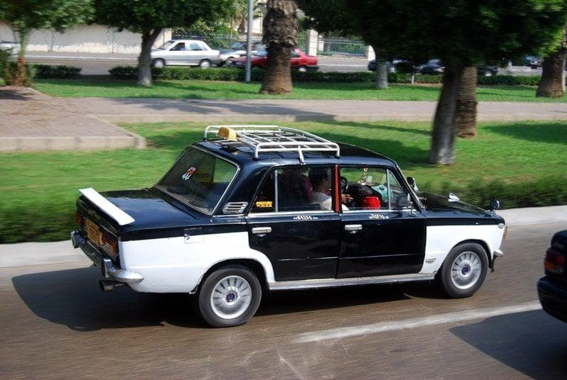 Káhirské taxíky