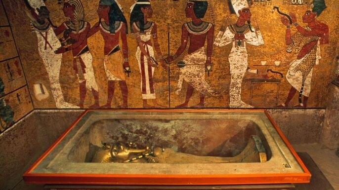 Tutanchamónova komnata