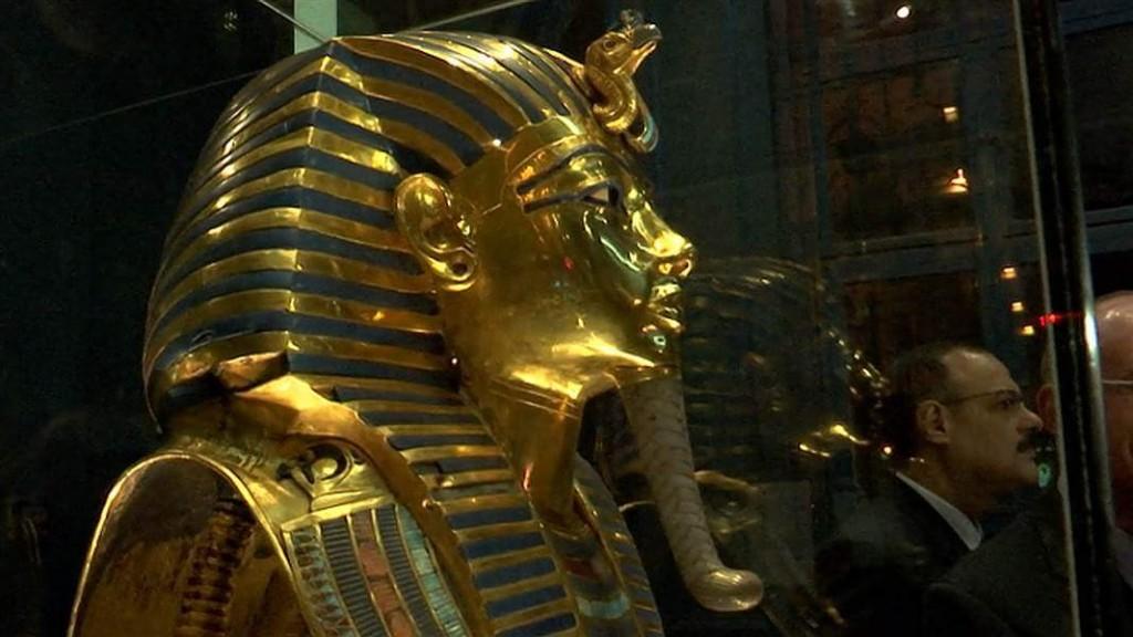 tutanchamonová maska