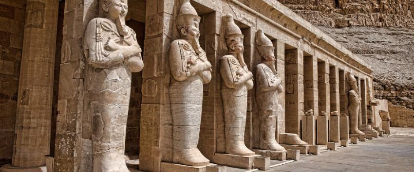 luxor v egypte