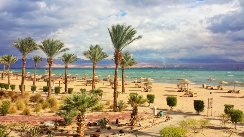 taba egypt pláž