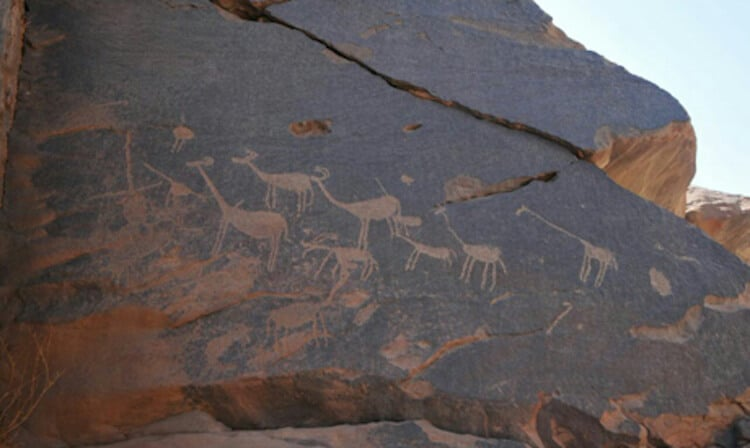rytiny 15000 rokov staré egypt
