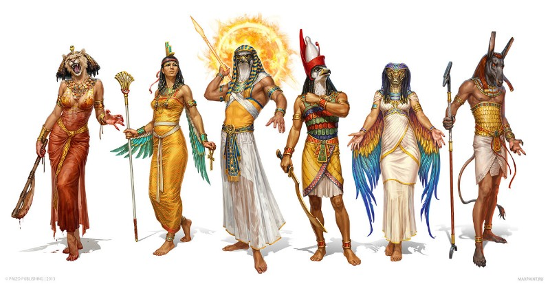 bohovia egypta