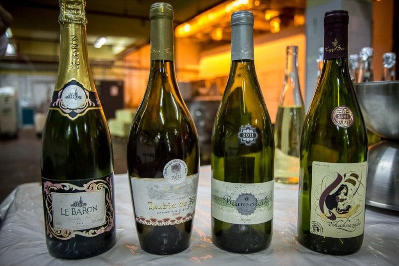 egyptské vína